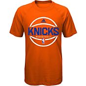 adidas Youth New York Knicks climalite Orange T-Shirt