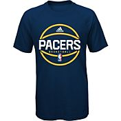 adidas Youth Indiana Pacers climalite Navy T-Shirt