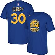 adidas Youth Golden State Warriors Steph Curry #30 Royal T-Shirt