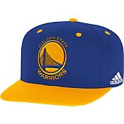 adidas Youth Golden State Warriors On-Court Adjustable Snapback Hat