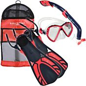 Aqua Lung Sport Kids' 4-Piece Snorkel Set