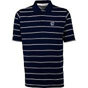 Antigua Men's Sporting Kansas City Deluxe Navy Polo