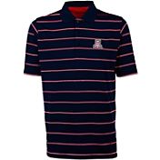 Antigua Men's Arizona Wildcats Navy Deluxe Performance Polo