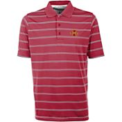 Antigua Men's Iowa State Cyclones Cardinal Deluxe Performance Polo