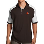 Antigua Men's Cleveland Browns Century Brown Polo