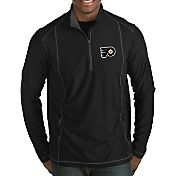 Antigua Men's Philadelphia Flyers Tempo Half-Zip Pullover Shirt