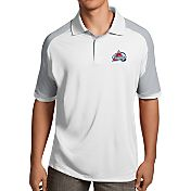 Antigua Men's Colorado Avalanche Century White Polo