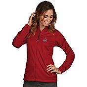 Antigua Women's St. Louis Cardinals Full-Zip Red  Golf Jacket