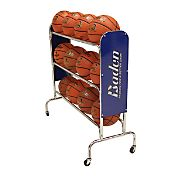 Baden 12-Ball Steel Basketball Rack with Wheels