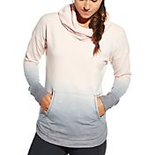 CALIA by Carrie Underwood Women's French Terry Dip Dye Hoodie