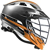 Cascade Custom R Platinum Lacrosse Helmet w/ Chrome Tungsten Mask