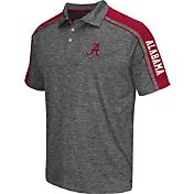 Chiliwear Men's Alabama Crimson Tide Grey Birdie Polo