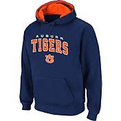 Colosseum Athletics Men's Auburn Tigers Blue Cotton Hoodie
