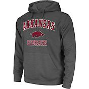 Colosseum Athletics Men's Arkansas Razorbacks Grey Performance Hoodie