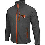 Colosseum Athletics Men's Oregon State Beavers Grey Backfield II Jacket