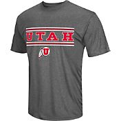 Colosseum Athletics Men's Utah Utes Grey Matrix T-Shirt