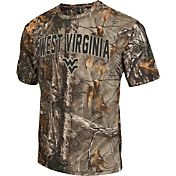Colosseum Athletics Men's West Virginia Mountaineers Camo Brow Tine T-Shirt