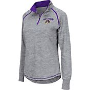 Colosseum Athletics Women's East Carolina Pirates Grey Bikram Quarter-Zip