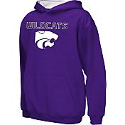 Colosseum Athletics Boys' Kansas State Wildcats Purple Poly Fleece Hoodie