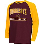 Colosseum Athletics Youth Minnesota Golden Gophers Maroon Krypton Long Sleeve Shirt