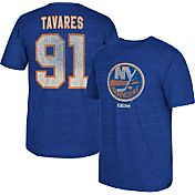 CCM Men's New York Islanders John Tavares #91 Vintage Replica Royal Player T-Shirt
