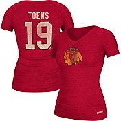 CCM Women's Chicago Blackhawks Jonathan Toews #19 Home Player T-Shirt