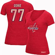 CCM Women's Washington Capitals T.J. Oshie #77 Vintage Replica Home Player T-Shirt