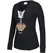 CCM Women's Los Angeles Kings Black Lace Up Henley