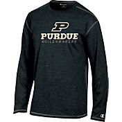 Champion Purdue Boilermakers Earn It Black Long Sleeve Shirt