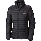Columbia Women's Plus-Size Powder Pillow Hybrid Insulated Jacket