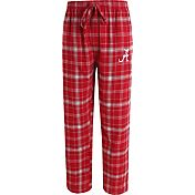 Concepts Sport Men's Alabama Crimson Tide Crimson/Grey Ultimate Plaid Sleep Pants