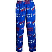 Concepts Sports Mens's Buffalo Bills Royal Wildcard Fleece Pants