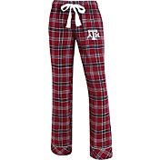 Concepts Sport Women's Texas A&M Aggies Maroon/Black Captivate Plaid Sleep Pants
