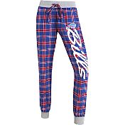 Concepts Sports Women's Buffalo Bills Royal/Red Flannel Jogger Pants