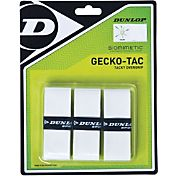 Dunlop Biomimetic Gecko-Tac White Overgrips - 3 Pack