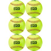 DICK'S Sporting Goods 11'' Practice Softballs – 6 Pack