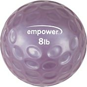 empower 8 lb Comfort Grip Medicine Ball with DVD