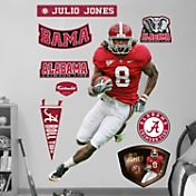 Fathead Julio Jones Alabama Crimson Tide Wall Graphic
