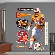 Fathead Doug Martin #22 Tampa Bay Buccaneers Throwback Real Big Wall Graphic