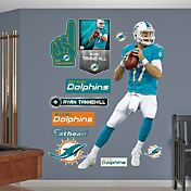 Fathead Ryan Tannehill #17 Miami Dolphins Real Big Wall Graphic