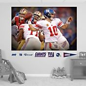 "Fathead Eli Manning ""In Your Face"" Wall Graphic"