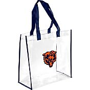 Forever Collectibles Chicago Bears Clear Reusable Bag