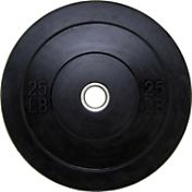 Fitness Gear Pro 25 lb Olympic Rubber Bumper Plate