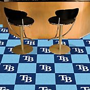FANMATS Tampa Bay Rays Team Carpet Tiles