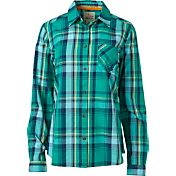 Field & Stream Women's Plaid Roll-Up Long Sleeve Shirt