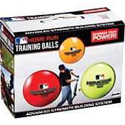 Franklin MLB 3-Ball Home Run Training Baseballs – 6 Pack