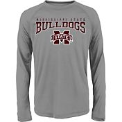 Gen2 Youth Mississippi State Bulldogs Grey Fadeout Long Sleeve Shirt