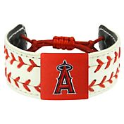 Los Angeles Angels Classic Two Seamer Baseball Bracelet