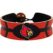 Louisville Cardinals Team Color Basketball Bracelet