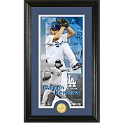 Highland Mint Los Angeles Dodgers Clayton Kershaw  Supreme Bronze Coin Photo Mint